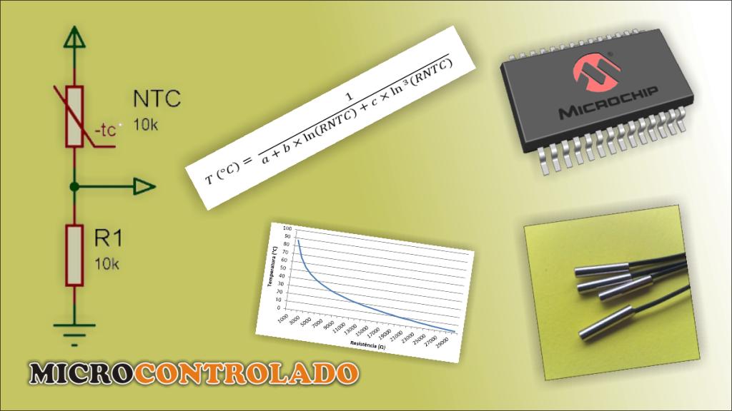Termistor NTC 10K