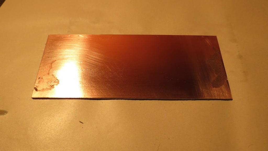 placa de circuito impresso virgem